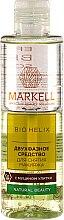 Parfüm, Parfüméria, kozmetikum Sminklemosó csiganyál kivonattal - Markell Cosmetics Bio Helix