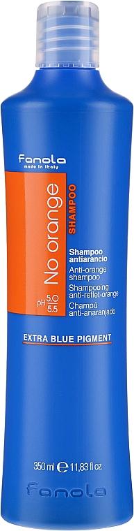 Tonizáló sampon sötét hajra - Fanola No Orange Extra Blue Pigment Shampoo