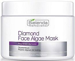 Parfüm, Parfüméria, kozmetikum Alginát gyémánt arcmaszk - Bielenda Professional Diamond Face Algae Mask