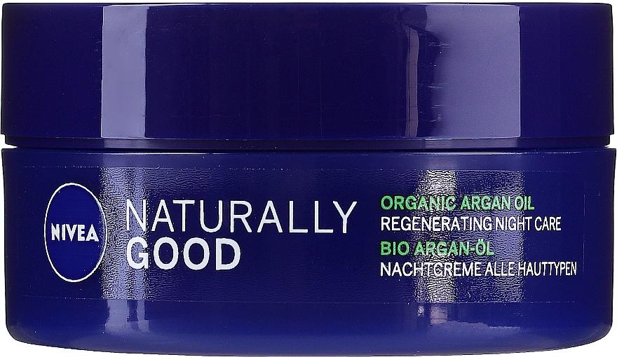 Regeneráló éjszakai krém minden bőrtípusra - Nivea Naturally Good Night Regeneration Care