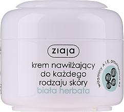 "Parfüm, Parfüméria, kozmetikum Hidratáló arckrém ""Fehér tea"" - Ziaja Cream White Tea"