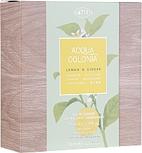 Parfüm, Parfüméria, kozmetikum Maurer & Wirtz 4711 Aqua Colognia Lemon & Ginger - Szett (edc/50ml + sh/gel/75ml)