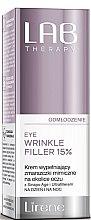 Parfüm, Parfüméria, kozmetikum Anti age arcfiller - Lirene Lab Therapy Anti Ageing Eye Cream Eye Wrinkle Filler 15%