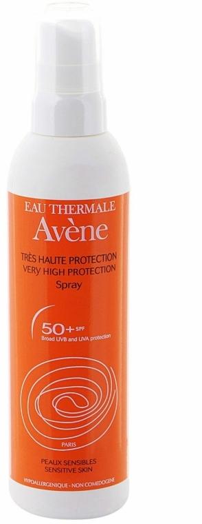 Védő permet - Avene Solaires Spray SPF 50+ — fotó N1