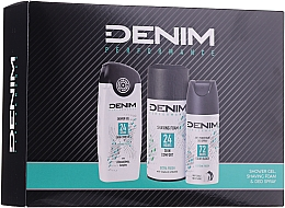 Parfüm, Parfüméria, kozmetikum Szett - Denim Extrem Fresh Set (deo/150ml + sh/gel/250ml + shav/foam/200ml)