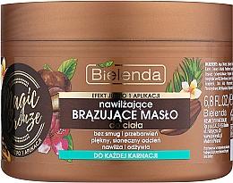 Parfüm, Parfüméria, kozmetikum Bronzosító testolaj - Bielenda Magic Bronze Moisturizing Bronzing Body Butter