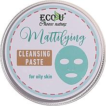 Parfüm, Parfüméria, kozmetikum Arctisztító paszta - ECO U Mattifying Cleansing Paste For Oily Skin