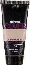 Parfüm, Parfüméria, kozmetikum Alapozó ásványokkal - Ingrid Cosmetics Mineral Cover Make Up Foundation
