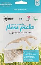 Parfüm, Parfüméria, kozmetikum Fogselyem fogantyúval - The Humble Co. Dental Floss Picks