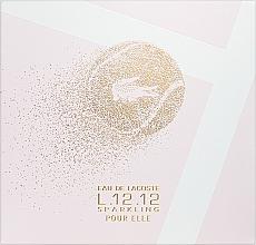 Parfüm, Parfüméria, kozmetikum Lacoste Eau de Lacoste L.12.12 Pour Elle Sparkling - Szett (edt/90ml + sh/gel/150ml)