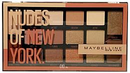 Parfüm, Parfüméria, kozmetikum Szemhéjfesték paletta - Maybelline Nudes of New York Eye Palette