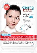 Parfüm, Parfüméria, kozmetikum Arcmaszk - Dermo Pharma 4D Lifting & Wrinkles Filling Hydrogel Neck Mask