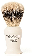 Parfüm, Parfüméria, kozmetikum Borotvapamacs, S376 - Taylor of Old Bond Street Shaving Brush Super Badger size L