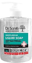 """Parfüm, Parfüméria, kozmetikum Folyékony hidratáló antibakteriális szappan """"Aloe vera"""" - Dr. Sante Antibacterial Moisturizing Liquid Soap"""