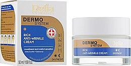 Parfüm, Parfüméria, kozmetikum Anti-age arckrém - Delia Dermo System Rich Anti-Wrinkle Cream
