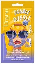 Parfüm, Parfüméria, kozmetikum Agyagos cica maszk C-vitaminnal - Lirene Double Bubble Mask