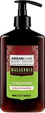 Parfüm, Parfüméria, kozmetikum Hajkondicionáló makadámiaolajjal - Arganicare Macadamia Conditioner
