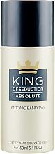 Parfüm, Parfüméria, kozmetikum Antonio Banderas King of Seduction Absolute - Dezodoe spray