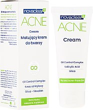 Parfüm, Parfüméria, kozmetikum Mattító arckrém - Novaclear Acne Cream