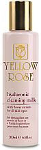 Parfüm, Parfüméria, kozmetikum Tisztító tej hialuronsavval - Yellow Rose Hyaluronic Cleansing Milk