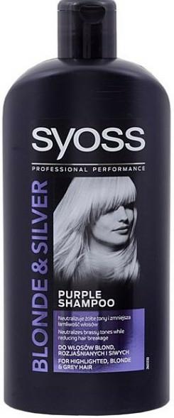 Sampon-sárga tónust neutralizáló - Syoss Blond & Silver Shampoo