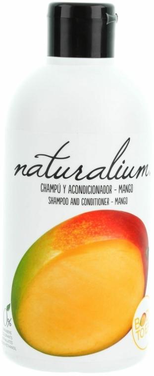 "Sampon és kondicionáló ""Mangó"" - Naturalium Shampoo And Conditioner Mango"