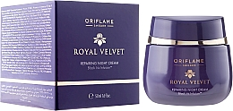 """Parfüm, Parfüméria, kozmetikum Ránctalanító éjszakai krém """"Royal bársony"""" - Oriflame Royal Velvet Night Cream"""