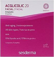 Parfüm, Parfüméria, kozmetikum Komplex hatású ampullák glikolsavval - SesDerma Laboratories Acglicolic 20 Ampoules