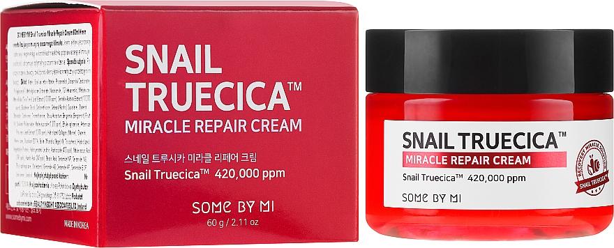 Regeneráló krém csiganyál kivonattal és keramiddal - Some By Mi Snail Truecica Miracle Repair Cream