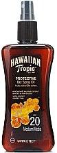 Parfüm, Parfüméria, kozmetikum Száraz olaj napozásra - Hawaiian Tropic Protective Dry Oil SPF20