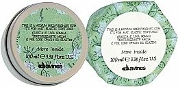 Parfüm, Parfüméria, kozmetikum Hajformázó gumi, természetes hatás - Davines More Inside Medium Hold Finishing Gum