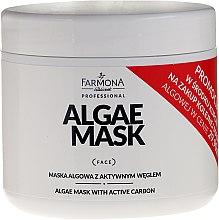 Parfüm, Parfüméria, kozmetikum Algás maszk aktív szénnel - Farmona Professional Algae Mask With Active Carbon