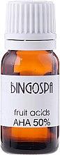 Parfüm, Parfüméria, kozmetikum 50% AHA gyümölcssavas olaj - BingoSpa