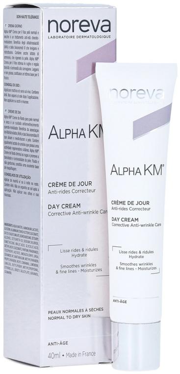 Korrigáló öregedésgátló nappali krém normál és száraz bőrre - Noreva Laboratoires Alpha KM Day Cream — fotó N1