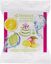 Parfüm, Parfüméria, kozmetikum Tisztítő nedves törlőkendő - Benecos Natural Care Happy Cleansing Wipes
