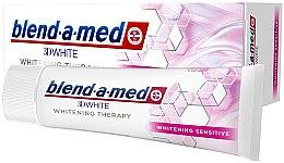 """Parfüm, Parfüméria, kozmetikum Fogkrém """"Fehérítés érzékeny fogakra"""" - Blend-a-Med 3D White Whitening Therapy Sensitive"""