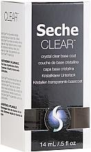 Parfüm, Parfüméria, kozmetikum Áttetsző alaplakk - Seche Vite Clear Crystal Base Coat