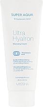 Parfüm, Parfüméria, kozmetikum Arctisztító krém hiauloronsavval - Missha Super Aqua Ultra Hyalron Cleansing Cream