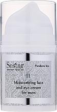 Parfüm, Parfüméria, kozmetikum Hidratáló arc és szemkontúrkrém - Sostar Moisturizing Moisturizing Face & Eye Cream For Men
