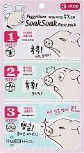 Parfüm, Parfüméria, kozmetikum Arcpakolás 3 lépésben - Mediheal PiggyMom SoakSoak Nose-Pack