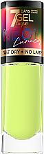 Parfüm, Parfüméria, kozmetikum Körömlakk - Eveline Cosmetics 7 Days Gel Laque Neon Lunacy