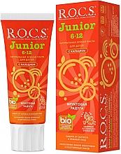 """Parfüm, Parfüméria, kozmetikum Fogkrém """"Gyümölcsös szívárvány"""" - R.O.C.S. Junior"""