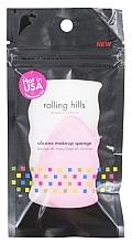 Parfüm, Parfüméria, kozmetikum Szilikon szivacs, rózsaszín - Rolling Hills Silicone Makeup Sponge Pink