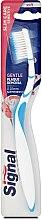 Parfüm, Parfüméria, kozmetikum Lágy fogkefe, világoskék - Signal Slim Care Sensitive Soft