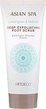 Parfüm, Parfüméria, kozmetikum Lábradír - Artdeco Asian Spa Deep Exfoliating Foot Scrub