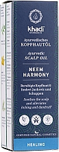 Parfüm, Parfüméria, kozmetikum Ajurvédikus fejbőr olaj - Khadi Ayurvedic Scalp Oil Neem Harmony