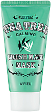 Parfüm, Parfüméria, kozmetikum Éjszakai maszk teafával - A'pieu Fresh Mate Tea Tree Mask