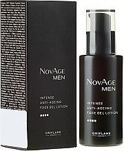 Parfüm, Parfüméria, kozmetikum Intenzív öregedésgátló zselés arcápoló lotion - Oriflame NovAge Men Intense Anti-Aging Face Gel Lotion