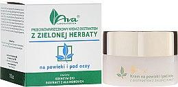 Parfüm, Parfüméria, kozmetikum Szemkörnyéki krém zöld tea kivonattal - Ava Laboratorium Eye Contour Cream With Green Tea