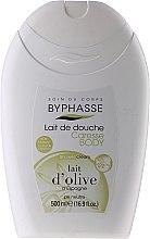 Parfüm, Parfüméria, kozmetikum Krémtusfürdő - Byphasse Caresse Shower Cream Olive Milk